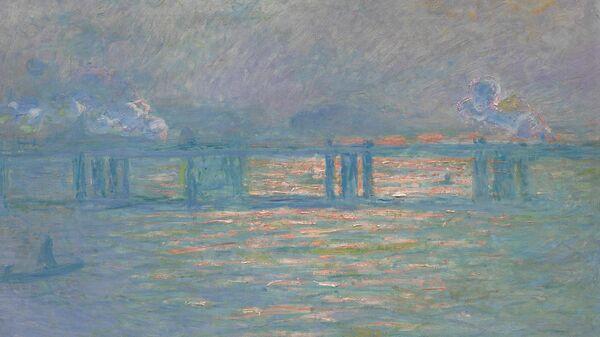 Картина Моне Мост Чаринг-Кросс, 1903 г.