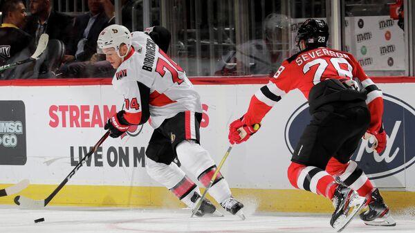 Оттава Сенаторз - Нью-Джерси Девилз в матче регулярного чемпионата НХЛ