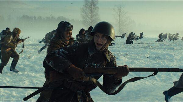 Кадр из военной драмы Ржев