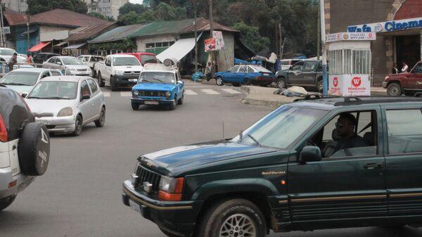 Улица в Аддис-Абебе