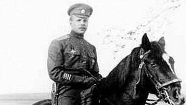 Полковник Яков Слащев. 1916-1917 гг.