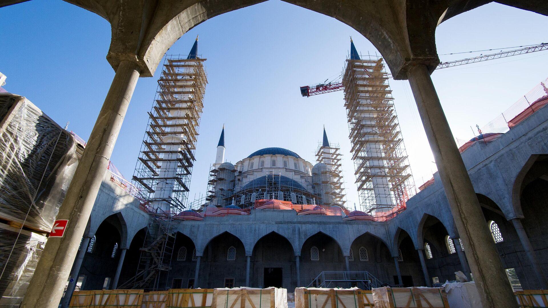 Строительство Соборной мечети в Симферополе - РИА Новости, 1920, 31.12.2020