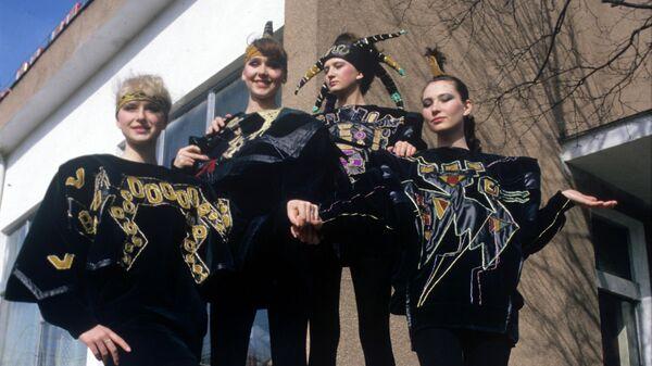 Участницы Всесоюзного фестиваля студенческих домов моды