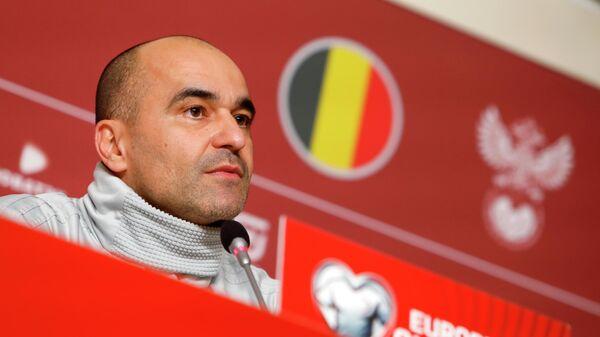 Главный тренер сборной Бельгии Роберто Мартинес