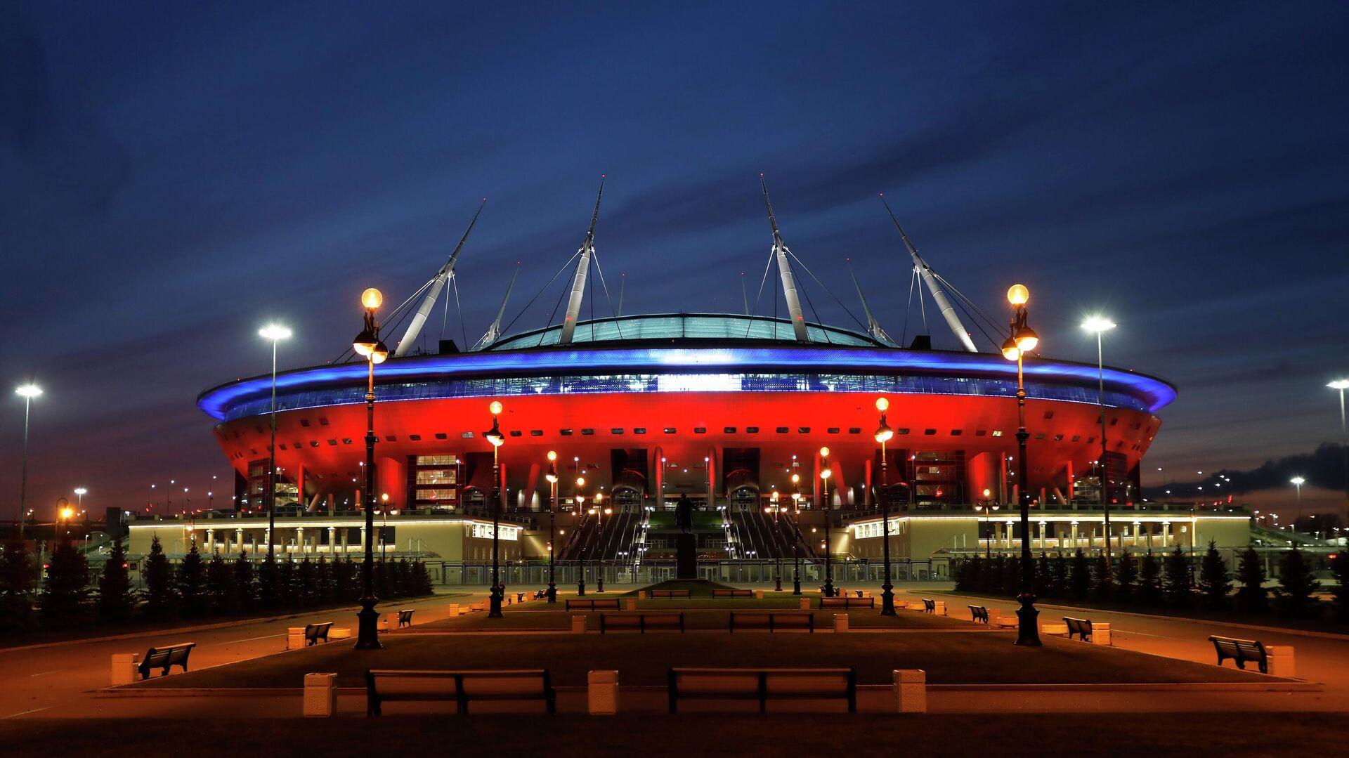 Стадион Арена Санкт-Петербург на Крестовском острове - РИА Новости, 1920, 23.04.2021