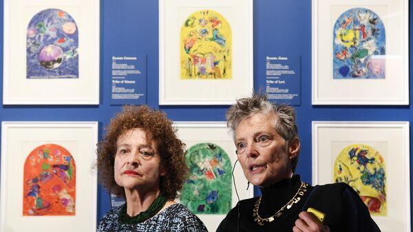 Выставка Шагал: между небом и землей