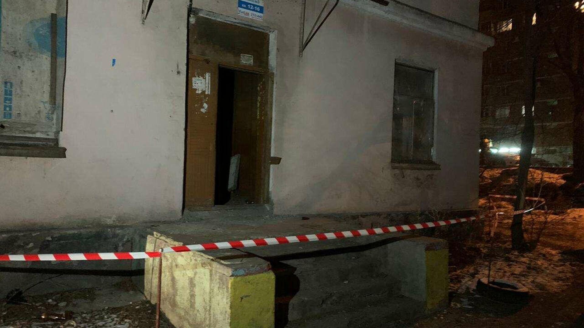 Вечером 16 ноября в Уссурийске на ул. Пушкина, 151,  произошло обрушение стены в одной из нежилых квартир - РИА Новости, 1920, 17.11.2019