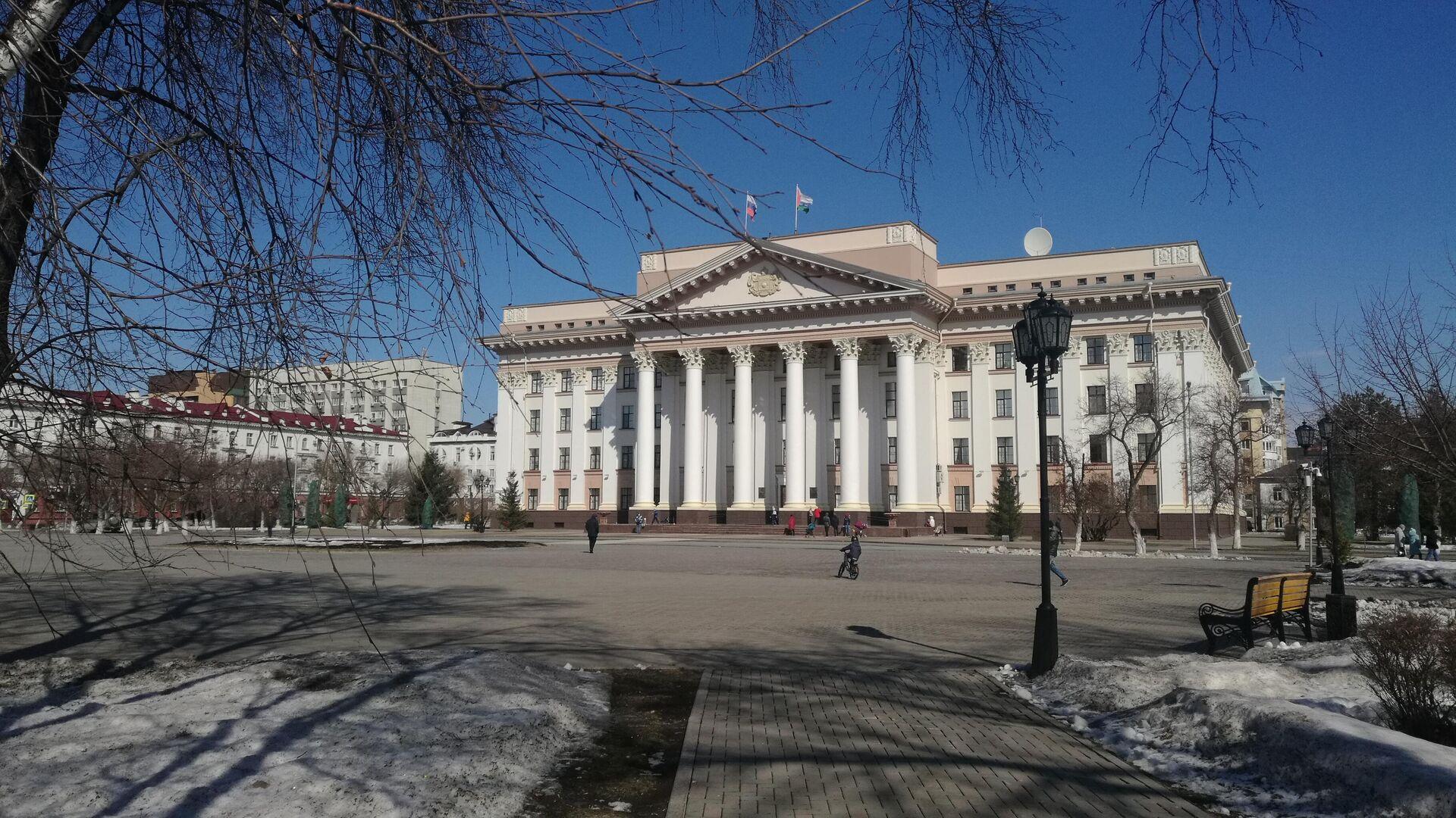 Здание правительства Тюменской области - РИА Новости, 1920, 17.11.2020