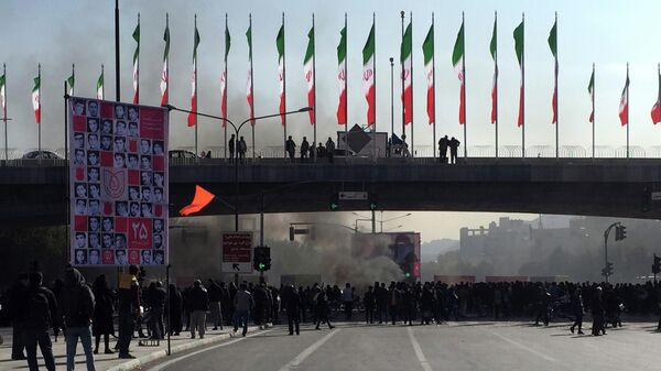 Акция протеста в Исхафане