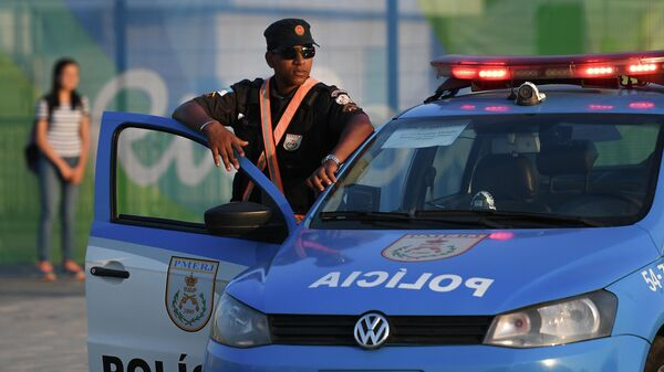 Полицейский в Рио-де-Жанейро