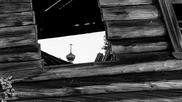 Ансамбль Почозерского погоста, XVIII – XIX вв. ( фрагмент ) , дер. Филипповская, Кенозерский национальный парк