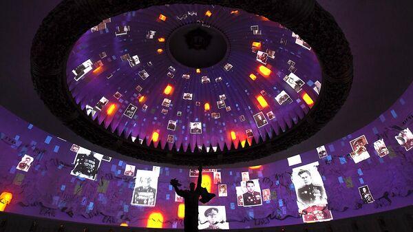 Светозвуковая инсталляция в Музее Победы на Поклонной горе