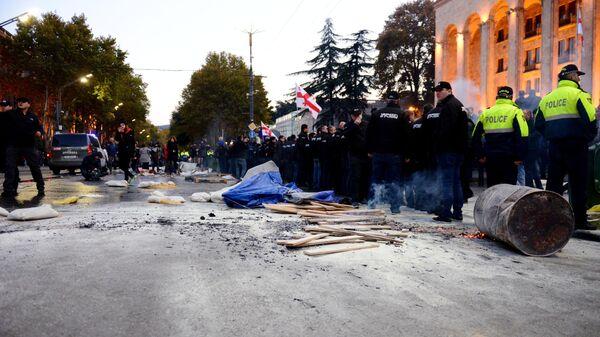 Акции протеста в Тбилиси