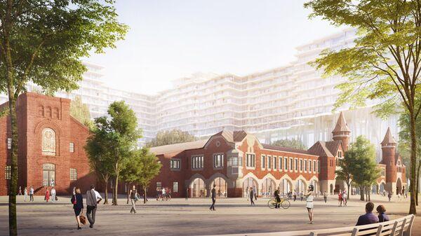 Проект редевелопмента Бадаевского завода