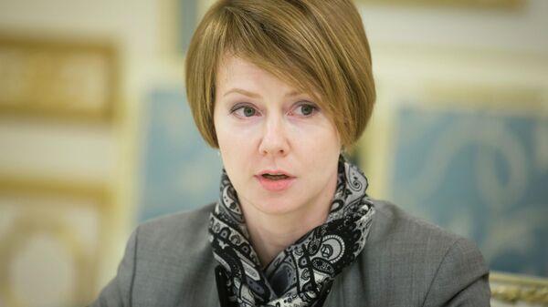 Бывший заместитель министра иностранных дел Украины по вопросам европейской интеграции Елена Зеркаль