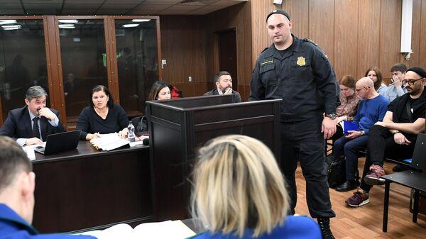 Заседание суда по уголовному делу Седьмой студии в Мещанском суде Москвы
