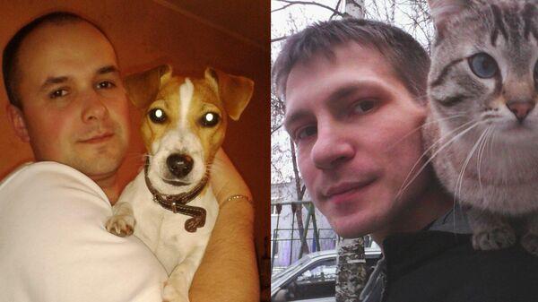 Осужденные Сергей Перевощиков и Николай Смирнов