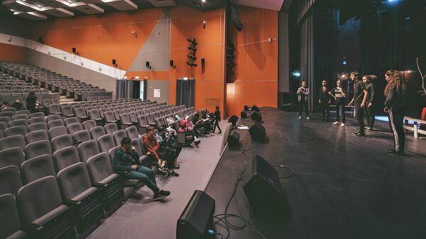 Концертный зал районного культурного центра