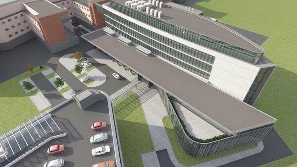 Новый корпус госпиталя Лапино в Одинцово откроется в 2020 году
