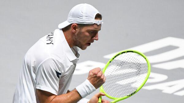 Немецкий теннисист Ян-Леннард Штруфф