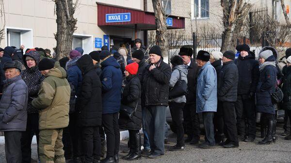 Очередь за медицинскими справками для водителей в Забайкальский краевой наркологический диспансер
