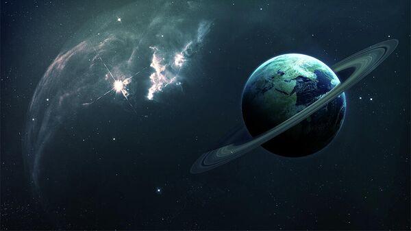 У Земли когда-то были кольца, как у Сатурна