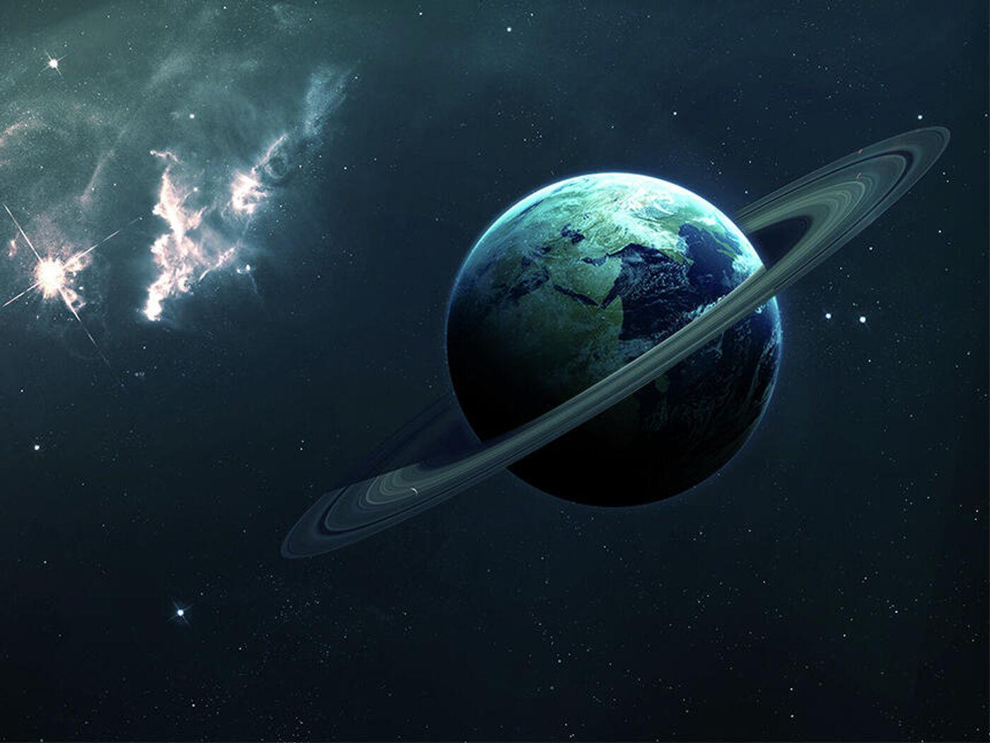 Обои обломки, астероиды, земля. Космос foto 16
