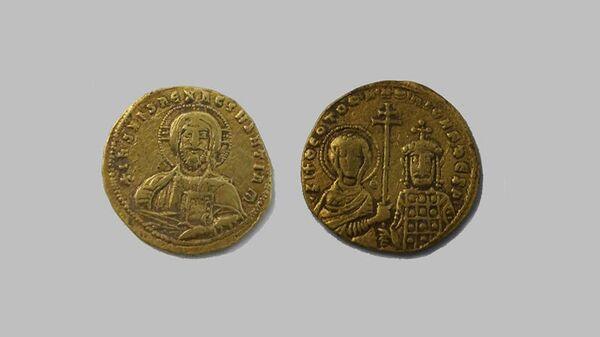 Византийские монеты, найденные археологами в Темрюкском районе Краснодарского края