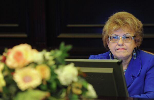 Вице-президент Российского союза ректоров Людмила Вербицкая