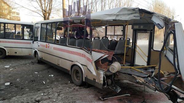 ДТП с участием автобусов в Красноярске