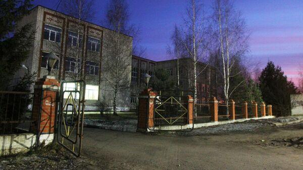 Школа в поселке Вад Нижегородской области