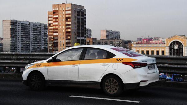 Автомобиль такси в Москве
