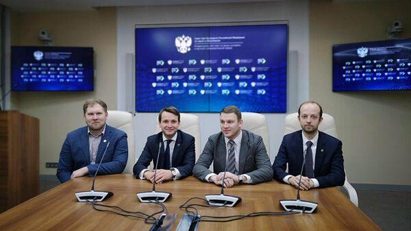 Пресс-брифинг соорганизаторов теста по специализации Наука для участников конкурса Лидеры России