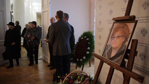 Портрет президента СПбГУ, почетного президента Российской академии образования Людмилы Вербицкой