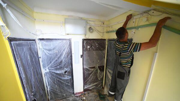 Капитальный ремонт в подъезде жилого дома