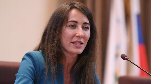 Заместитель Национальной антидопинговой организации РУСАДА Маргарита Пахноцкая