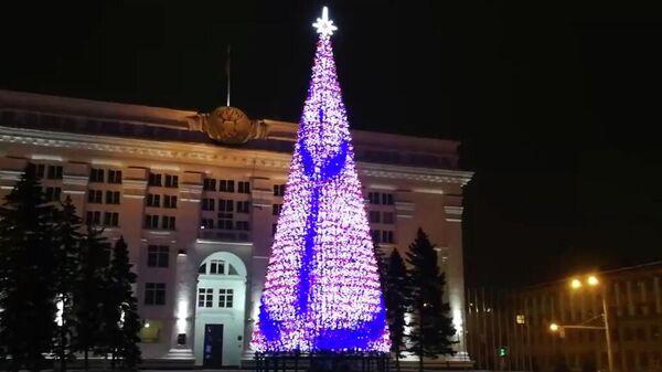 Новая новогодняя ель за 18 миллионов рублей в Кемерово
