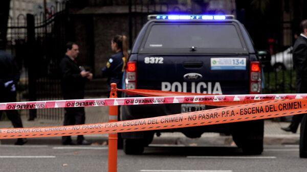 Автомобиль полиции Аргентины