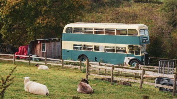 Двухэтажный автобус Leyland Titan 1964 года