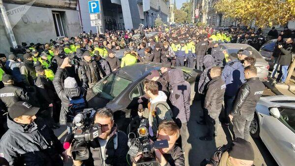 Акция протеста в Тбилиси. 29 ноября 2019