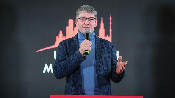 Алексей Фурсин открывает первый в мире подземный идеатон