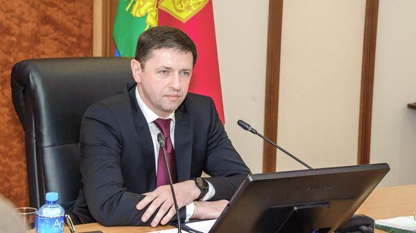 Глава департамента потребительской сферы Краснодарского края Роман Куринный