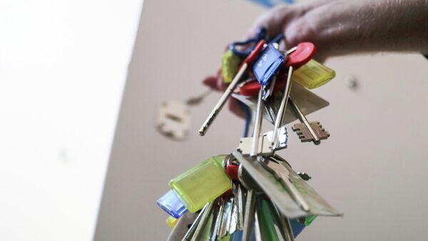 Ключи от квартир многоэтажного жилого дома