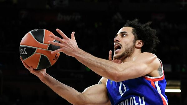Баскетболист турецкого клуба Анадолу Эфес Шейн Ларкин