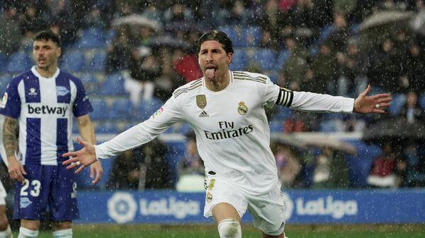 Игрок ФК Реал Мадрид Серхио Рамос