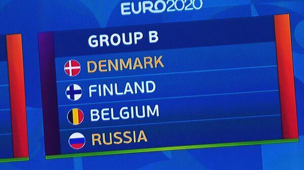 Состав группы В ЕВРО-2020, в которой сыграет сборная России