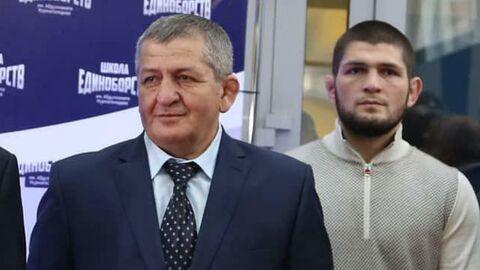 Открытие школы единоборств имени  Абдулманапа Нурмагомедова в Дагестане