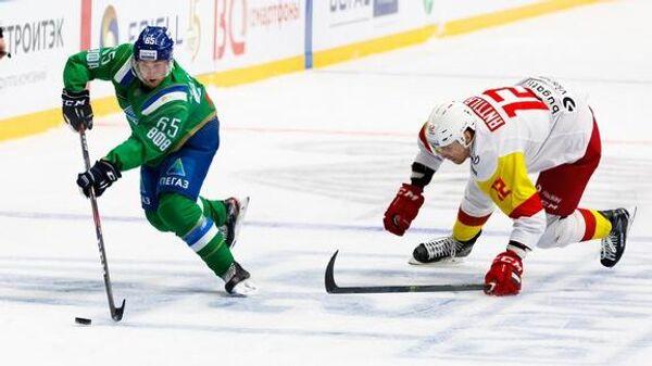 Салават Юлаев - Йокерит в матче регулярного чемпионата КХЛ