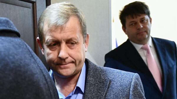 Владелец парка Тайган Олег Зубков после заседания в Белогорском районном суде