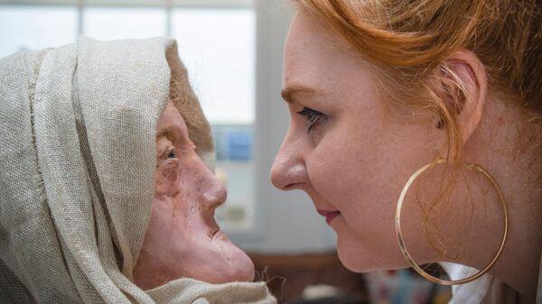 Реконструкция лица женщины-друида и ее создатель